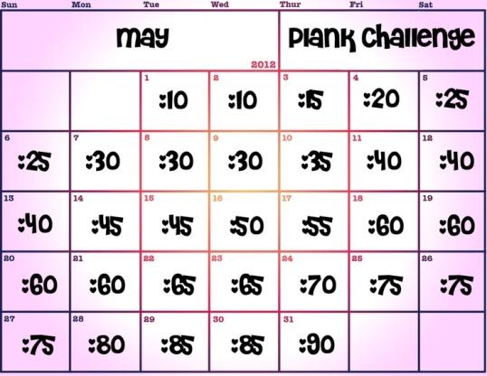 May Plank Challenge